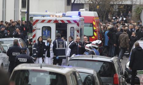 Sweden's PM condemns fatal Paris shootings
