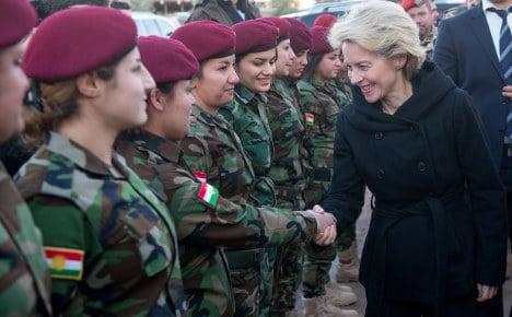 Iraqi Kurds may get more German weapons