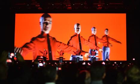 Kraftwerk kick off shows at Berlin landmark