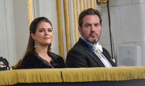 Sweden's Princess Madeleine moves home