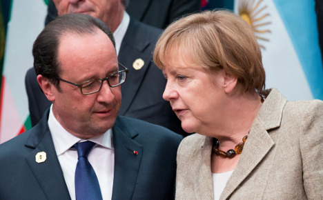 Merkel to attend Paris mass rally on Sunday