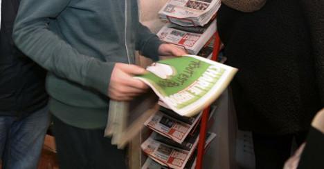 Charlie Hebdo survivors mock jihadist killers