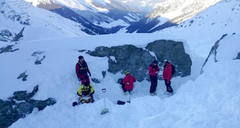 Avalanche kills fourth man in three days