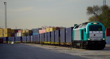 World's longest railway stalled in Madrid