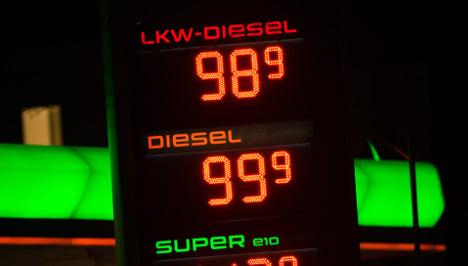 Diesel drops below €1 in parts of Germany