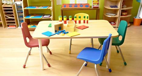 Seven kids hurt in Milan classroom accident