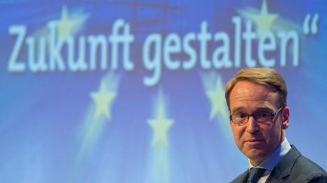 ECB bond-buying 'brings risks': Weidmann