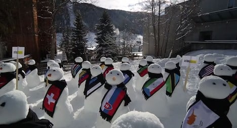 Davos forum runs without security hitches