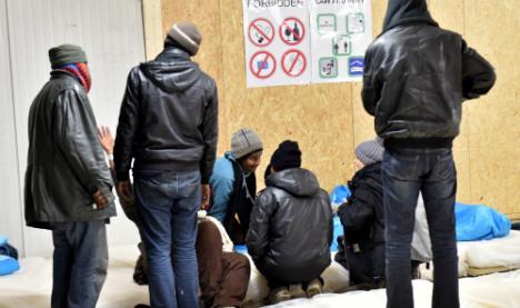 Police break up mass migrant brawl in Calais
