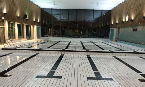Sweden's first LGBT pool makes a loud splash