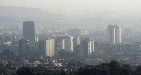 Smog alert issued for Barcelona