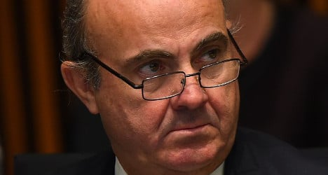 Spain could grow 2.5% in 2015: Economy minister