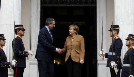 Merkel wants Greece to stay in eurozone