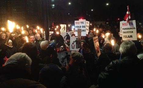 Pegida movement hits the streets of Denmark