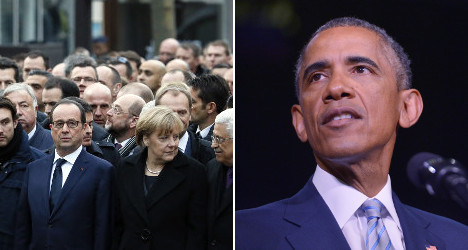 Should Obama have been marching in Paris?