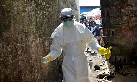 Danish nurse put in isolation over Ebola fears