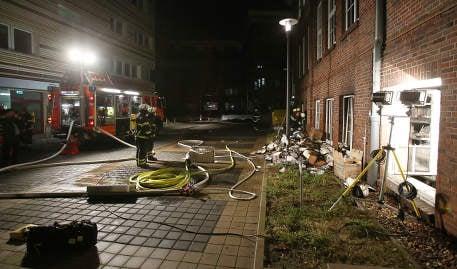 German paper hit by Hebdo arson attack