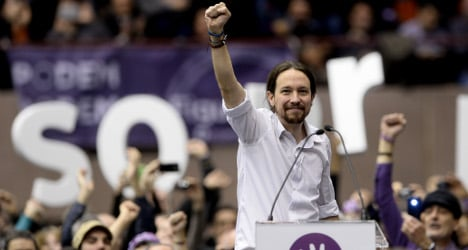 Podemos chief top pick for Spanish PM: poll