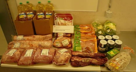 Man caught smuggling 38 tons of food and drink