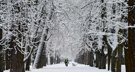 Spain on alert for freezing conditions