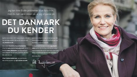 VIDEO: Ad campaign preps Danes for elections