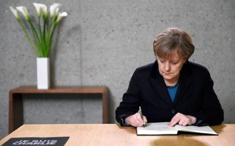 As Merkel offers condolences, Pegida to don black armbands