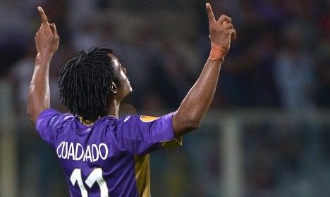 Fiorentina deny Chelsea to snap up Cuadrado