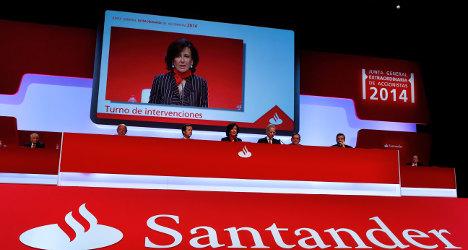 Santander launches shock €7.5bn capital hike
