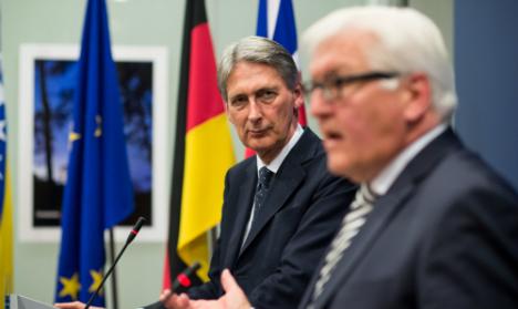 Berlin urges Bosnia to get back on EU path