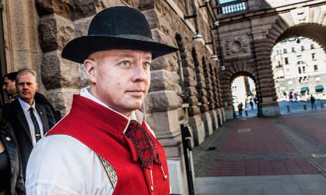 Sweden Democrat wins anti-Semitism 'award'