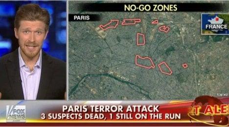 Paris to sue Fox News for Muslim 'no-go zones'