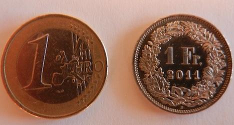 Euro hits fresh lows against Swiss franc
