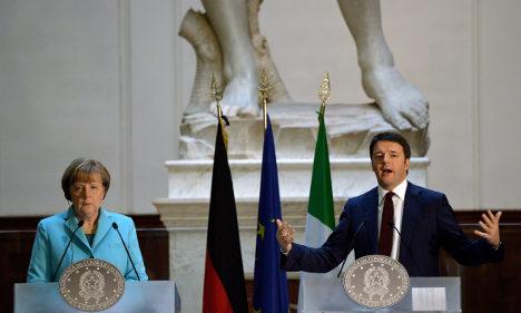 Merkel confident Renzi will deliver on reforms