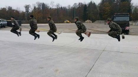 VIDEO: Swiss soldiers publish antics online