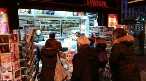 Charlie Hebdo sells out within hours in France