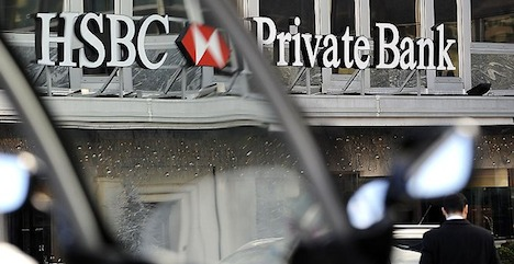 Argentina stages massive raid of HSBC