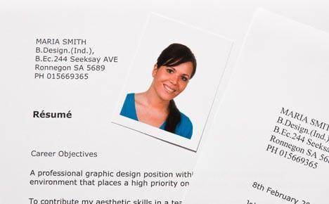 Why do Danes put a photo on their CV?
