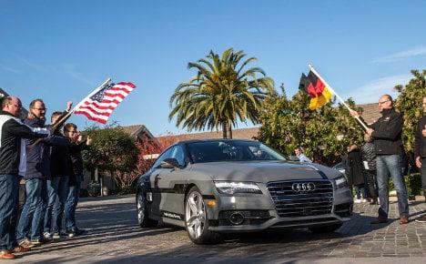 Audi prototype drives itself to Las Vegas