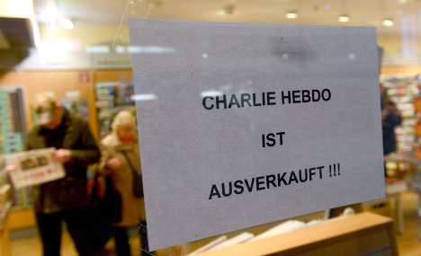 Extra copies of Charlie Hebdo to hit Germany