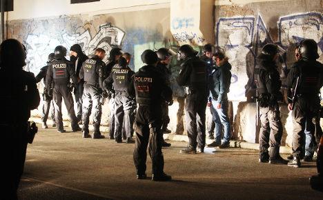 'Anti-fascist' mob rampages in Leipzig