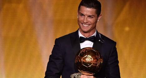 Cristiano Ronaldo wins third Ballon D'Or