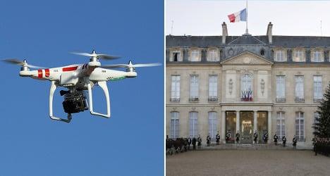 Rogue drone sparks alarm at Elysée Palace
