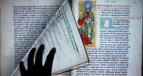 On trial: cathedral thief who hid codex in garage