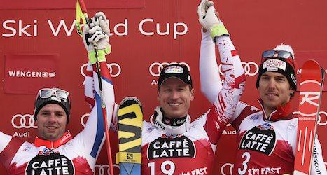 Austria's Reichelt beats Swiss with downhill win