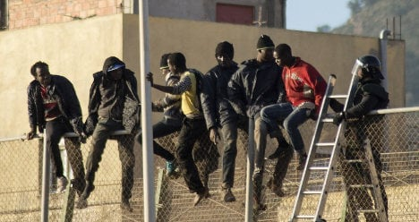 Spain deletes video of border police 'crimes'