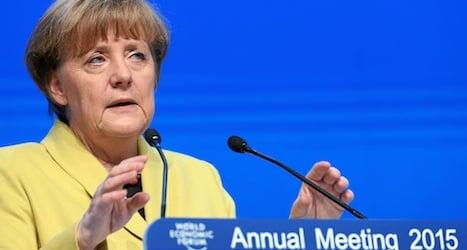Reforms 'still needed' after ECB action: Merkel