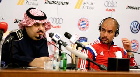 Bayern accidentally snub Saudi prince at dinner
