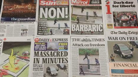 'They won't kill freedom' – Media reacts to attack