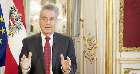 Austrian President condemns Paris attacks