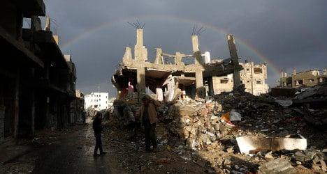 World must help Gaza rebuild: Spain